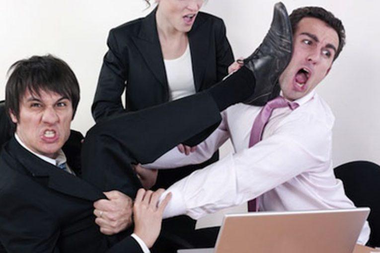 مشکلات در محیط کار