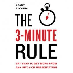 قانون سه دقیقه: کمتر صحبت کن و بیشتر نتیجه بگیر
